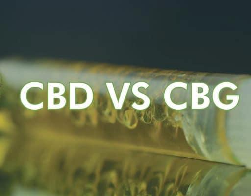 Difference between CBD & CBG
