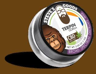Terpin Gorilla CBD Tab
