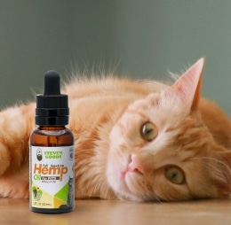 Steve's Goods Hemp Oil cat