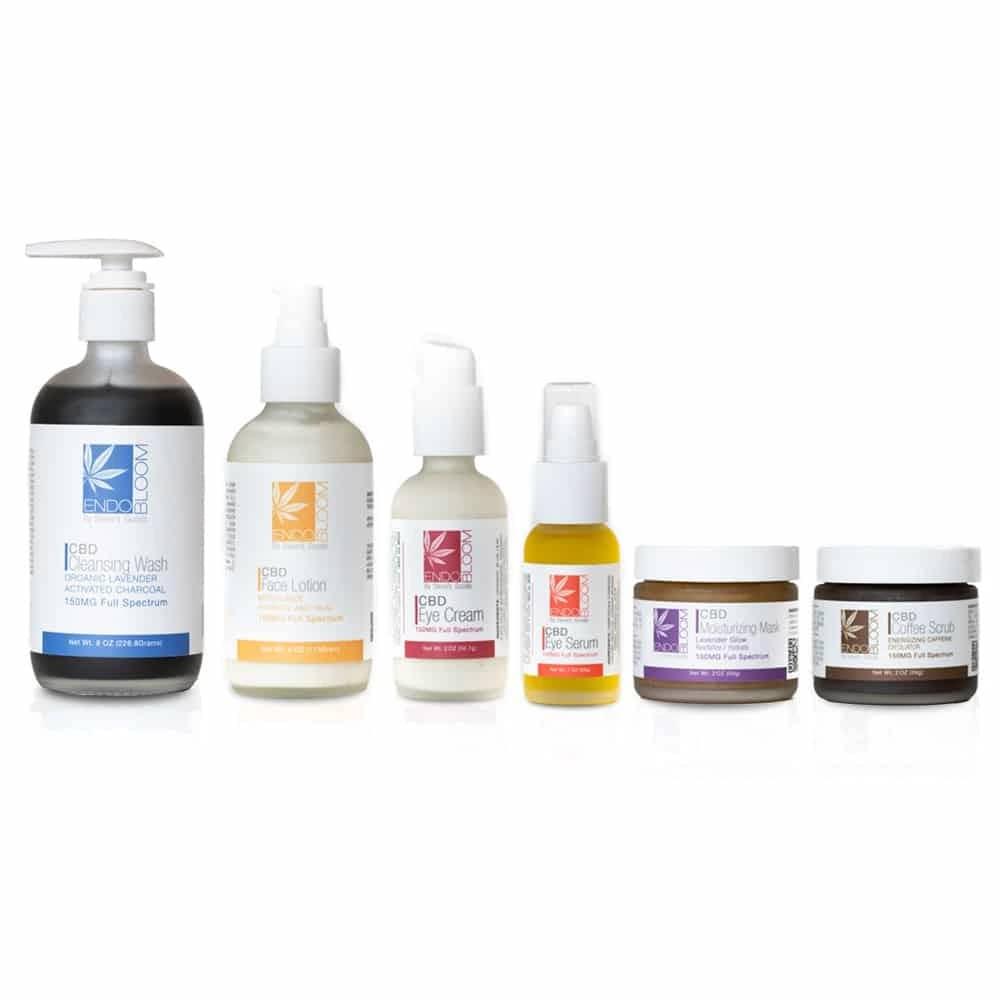 CBD Skincare Endobloom Bundle