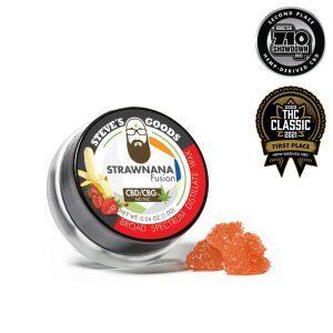 StrawNana CBD Wax 1.0g Product