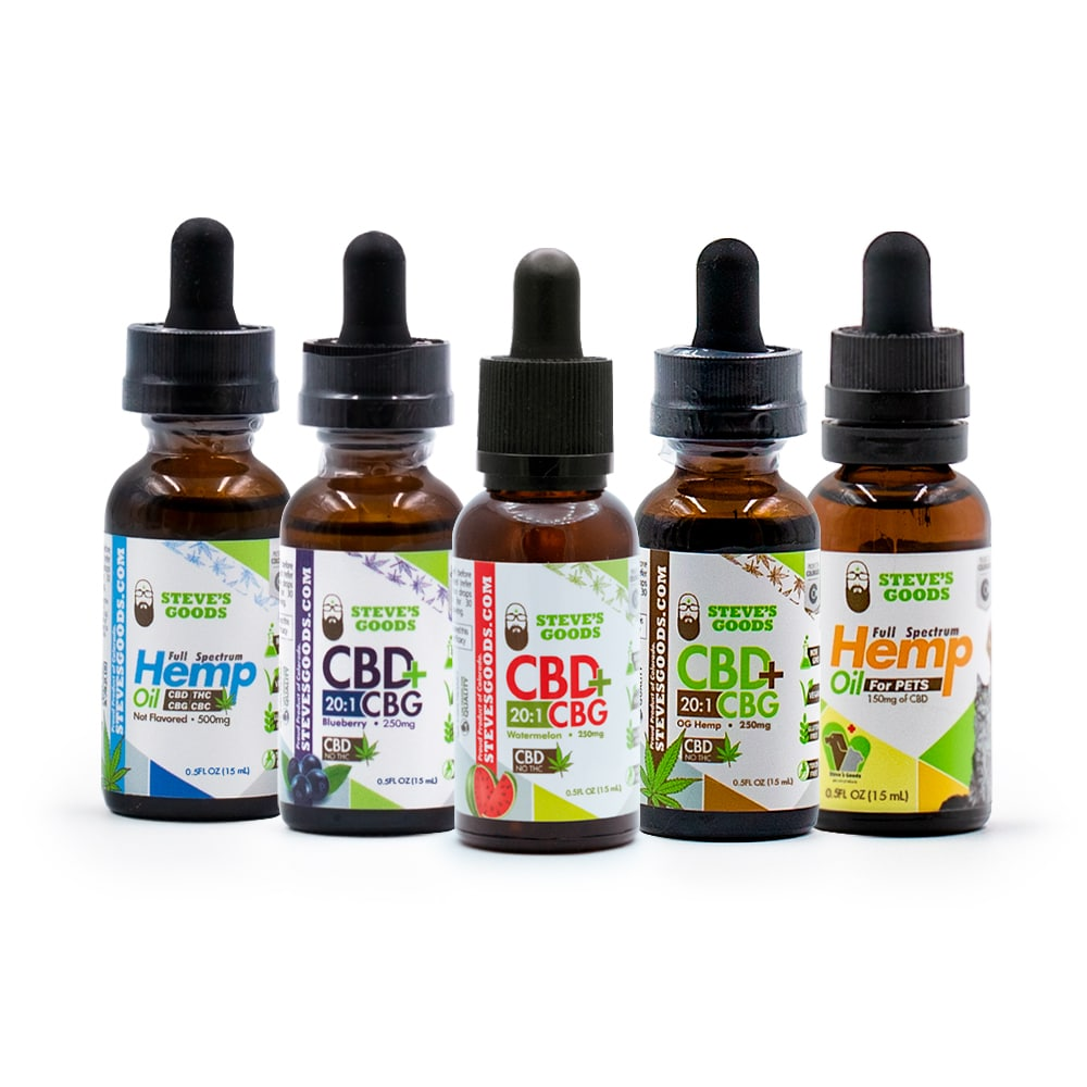 Hemp Oil Bundle Gotta Taste 'Em All 5 Fine Flavors