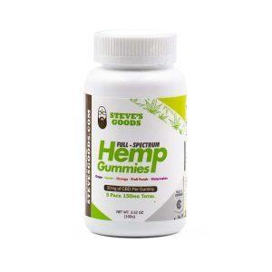 CBD Full Spectrum Gummies | 30 mg – Fine Crude Hemp Extract Each | 5-Pack