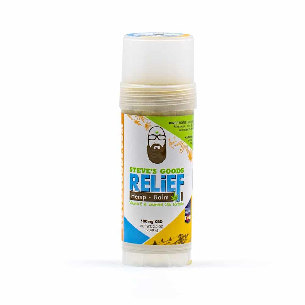 CBD Relief Balm Stick 2oz 500mg Product